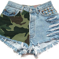 The Army Babe Shorts