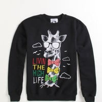 Riot Society Rasta Livin' The High Life Crew Fleece at PacSun.com