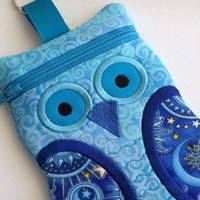 Blue Owl Gadget Cell Phone Case iPhone Case iPod Case