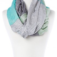 Cyprus Circle Scarf in Jade - ShopSosie.com