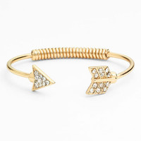 BP. Rhinestone Arrow Spring Cuff | Nordstrom