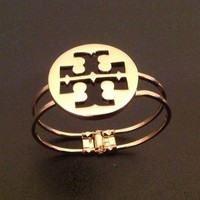 NEW Tory Burch Gold Cuff Bracelet Bangle