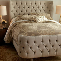&quot;Linen Larkspur&quot; Bed - Horchow
