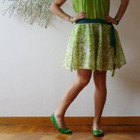Supermarket: Umbrella Skirt *7 green apple from Cecilia Felli