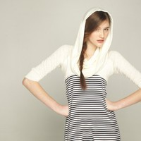 Supermarket: Crop Hoodie from Vicky Dubois Design