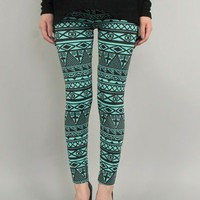 Dixie mint leggings | Appealing Boutique