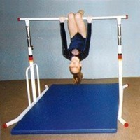 Amazon.com: &quot;Gymnastics Apparatus Horizontal And Training Bars 60 Adjustable Horizontal Bars - 60&quot;&quot; Free Standing Horizontal Bar - Galvanized&quot;: Sports &amp; Outdoors
