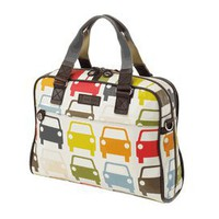 Orla Kiely Large Car Laptop Bag