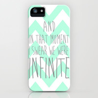 INFINITE {CHEVRON} iPhone Case by nataliesales | Society6