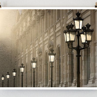 Large Photograph Paris Photography Last Light by littlebrownpen