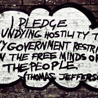 Freedom Graffiti Photography Quote Thomas Jefferson by PhotoLarks