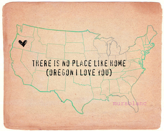 Oregon There is no place like home pick you own by MursBlanc