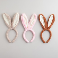 Bunny Ear Easter Headbands, Set of 3
