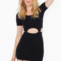 Bundy Cutout Dress - Black in  Clothes at Nasty Gal