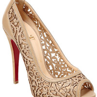 "Rue La La - Christian Louboutin ""Pampas"" Leather Pump"
