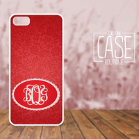 Personalized iPhone 4 / 4s or iPhone 5 Case - Plastic iPhone case - Rubber iPhone case - Monogram iPhone case - CB003