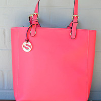 Sweet Nothing Purse: Coral | Hope's