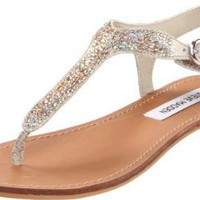 Amazon.com: Steve Madden Women&#x27;s Beaminng Sandal: Steve Madden: Shoes