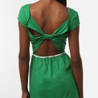 Simple Green Dress - Urban Outfitters