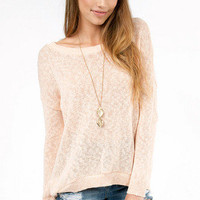 Abigail Asymmetrical Sweater $28