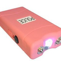 Amazon.com: POLICE 7,800,000 V Stun Gun VC w/ Flashlight (Pink): Sports & Outdoors