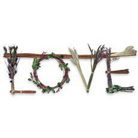 "Lot 26 Botanicals ""Love"" Wreath Swag 