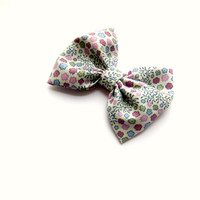 Butterfly Bow Vintage Liberty of London by graceandfavourshop