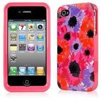 Contour Design Kate Spade Anemone Case Cover for Iphone 4/ 4s