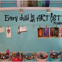Every Child is an Artist Decal