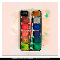 Watercolor iPhone Case - 4 &amp; 4s