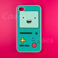 Adventure Time Iphone 4 Case - Beemo Iphone Case,Iphone 4s Case