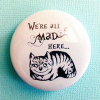 We are all MAD here -  1.75&quot; Badge / Button