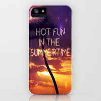 hot fun in the summertime iPhone Case by Sylvia Cook Photography