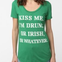 UrbanOutfitters.com &gt; Truly Madly Deeply Kiss Me Tee