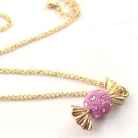 Candyspell  Sugar Candy Pendant Necklace