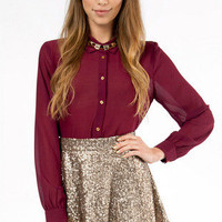 Sequin Skater Skirt $29