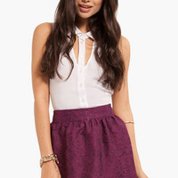 Brocade Tulip Skirt $25