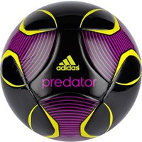 adidas Predator Europa League Capitano Soccer Ball - Black/Purple - Dick's Sporting Goods