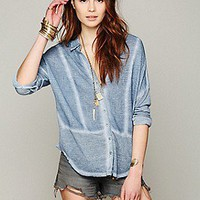 Free People Clothing Boutique > Zahara Button Down
