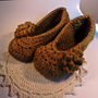 Luxury Collection - Women&#x27;s Slippers, Alpaca And Merino, Camel With Rose | Luulla