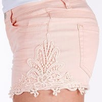 Tinseltown Crochet Stretch Short - Women&#x27;s Shorts | Buckle