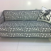 www.roomservicestore.com - Lautner Sofa-Black and White