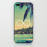 Forever Summer Vintage Beach Infinity iPhone &amp; iPod Skin by RexLambo | Society6