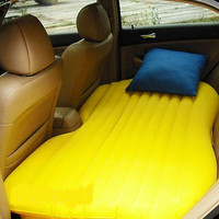 Car travel inflatable mattress car inflatable bed car bed