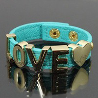 "Couturizm — ""LOVE"" Fashion Leather Bracelet"