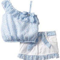 Amazon.com: Little Lass Baby-girls Infant 2 Piece Scooter Set with Belt: Clothing