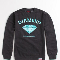 Diamond Supply Co Classic Plaid Crew Fleece at PacSun.com