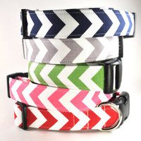 Chevrons - Dog Collar