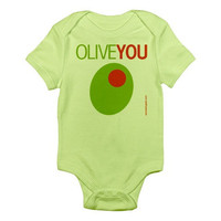 Olive You - Baby Bodysuit - FREE SHIPPING
