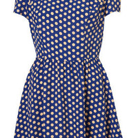 Spot Flippy Dress - Dresses  - Apparel  - Topshop USA